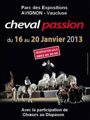 Affiche cheval-passion