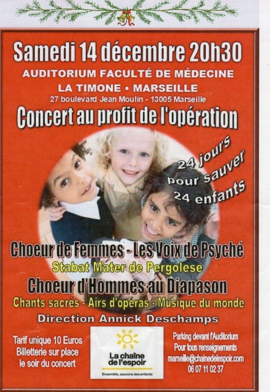 Concert fac de médecine